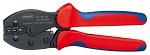 KNIPEX - 97 52 35 - PreciForce® crimping tool burnished 220 mm, WL27702