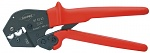 KNIPEX - 97 52 23 - Crimping pliers also for two-hand operation burnished 250 mm, WL27700