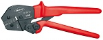 KNIPEX - 97 52 08 - Crimping pliers also for two-hand operation burnished 250 mm, WL27696