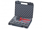 KNIPEX - 97 43 200 - Crimp system pliers for replaceable crimping dies burnished 200 mm, WL25430