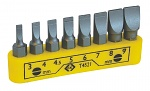C.K - T4521 - Screwdriver bit set, slot, WL44141