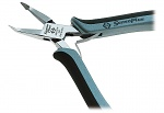 C.K - 3871DF-120 - ESD diagonal cutter, angled, small bevel, WL10996