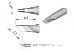 JBC - C105-212 - Soldering/desoldering tip for Nano, WL29029