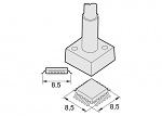 JBC - 2245023 - Desoldering tip QFP/PLCC 8.5 x 8.5 mm, WL13237