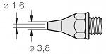 JBC - 321500 - Desoldering tip for 3040000 / 75 W, CLASSIC series, WL23607