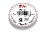 WELLER - T0051301199 - Desoldering braid 2.0 mm / 1.5 m, WL16374