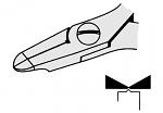 EREM - 2470E - ESD diagonal end cutter, WL23084