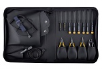 "BERNSTEIN - 2220 - Service set ""ANTISTATIC"" with 12 tools, bag made of conductive material, WL43154"