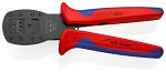 KNIPEX - 97 54 27 - Crimp Tool for Miniature Connector Parallel Crimp, for MQS Connector, burnished 190 mm, WL46164