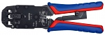KNIPEX - 97 51 12 - Crimping pliers for Western plug burnished 200 mm, WL42664