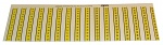 CAB - 8910013 - Positioning strips, PCB magazine, WL10751