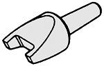 WELLER - SMT0504A - Lötspitze A/1 für Bauteile 1,0 x 1,2 mm, 12 x 1,0 mm, 1,2 x 1,2 mm, 1,6 x 0,8 mm, WL16519