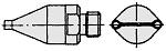 WELLER - T0058727775 - FD4 Dual nozzle, D: 1.5 mm, distance 10 mm, WL16621