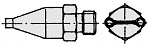 WELLER - T0058727776 - FD2 Dual nozzle, D: 1.5 mm, distance 8 mm, WL16622
