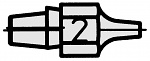 WELLER - T0051314299 - DX 112 suction nozzle outside 2.3 mm, inside 1 mm, WL18208