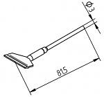ERSA - 0452FDLF250/SB - Desoldering tip set, straight, 25.0 mm, WL36459