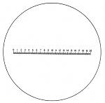 ESCHENBACH - 115204 - Precision measuring scale , 45 x 30 x 2 mm, WL26758