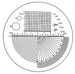 ESCHENBACH - 115202 - Precision measuring scale , 50 x 30 x 1 mm, WL26757
