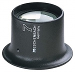 ESCHENBACH - 11243 - Watchmaker loupe plano convex 3x, 12 dpt., D=25 mm, WL12445