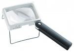 ESCHENBACH - 2034 - reading glass combi PLUS with case, aspherical, 3.5x, 10 dpt., D=75x50 mm, WL12481