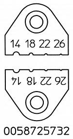 WELLER - T0058725732 - Stripping knife set for WST20/WST82, WL16613