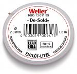 WELLER - T0051301199 - Entlötlitze 2,0 mm / 1,5 m, WL16374