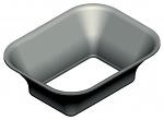 JBC - P3353 - Rectangular protective cup, 4.3 x 3.0 mm, WL23238
