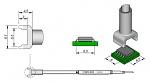 JBC - C245303 - Desoldering tip tunnel 6,5 x 6 mm, WL22505