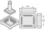 JBC - C245247 - Desoldering tip socket 17 x 17 mm, WL20751