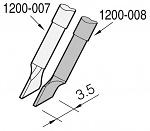 JBC - C120008 - Desoldering tip blade-shaped left, 3,5 x 0,7 mm, WL23225