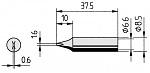 ERSA - 0842YDLF/SB - Soldering tip straight, chisel-shaped, 1.6 mm, WL36052
