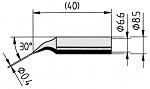 ERSA - 0842ID/SB - Soldering tip, angled, pencil point, 0.4 mm, WL12241