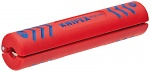 KNIPEX - 16 60 100 SB - Stripping tool for coaxial cable, universal Ø 4,8 - 7,5 mm / 3 x 0,75 mm², WL27019