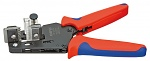 KNIPEX - 12 12 02 - Precision wire stripper, with form knives 0,03 - 2,08 mm², WL19791