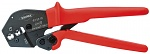 KNIPEX - 97 52 19 - Crimping pliers also for two-hand operation burnished 250 mm, WL27699