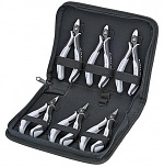KNIPEX - 00 20 16 P ESD - ESD precision electronic pliers set, 6 pieces, WL33532