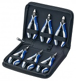 KNIPEX - 00 20 16 P - Precision electronic pliers set, 6 pieces, WL30496
