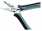 C.K - 3786DF-120 - ESD diagonal cutter, angled, small bevel, WL10978