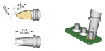 JBC - R245006 - Soldering tip Pin connector, D: 3.5 mm, WL43424