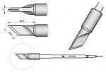 JBC - C470061 - Soldering tip, blade-shaped, 10.6 mm, WL40599