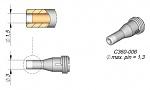 JBC - C360006 - Desoldering nozzle D: 1.5 mm, throughhole, WL26761