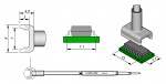 JBC - C245222 - Desoldering tip tunnel 7,1 x 13 mm, WL21482
