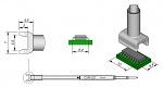 JBC - C245221 - Desoldering tip tunnel 5,4 x 10 mm, WL21480