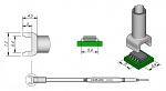 JBC - C245220 - Desoldering tip tunnel 5,4 x 6 mm, WL20754