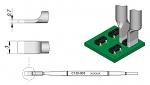 JBC - C120003 - Blade-shaped soldering tip, 3 x 0.7 mm, WL41660