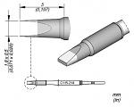 JBC - C115214 - Lötspitze meißelförmig, 1,8 x 0,5 mm, WL45012