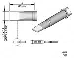 JBC - C115114 - Lötspitze meißelförmig, 1,8 x 0,5 mm, WL44956