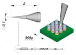 JBC - C105126 - Lötspitze konisch, D: 0,1 mm, gerade, WL37100