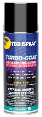 TECHSPRAY - TURBO-COAT - Acrylic conformal coating / spray can, WL25149