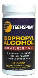TECHSPRAY - 1610-100DSP - Cleaning cloths for recording heads, WL20778